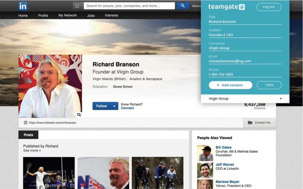 Teamgate-LinkedIn Shuttle