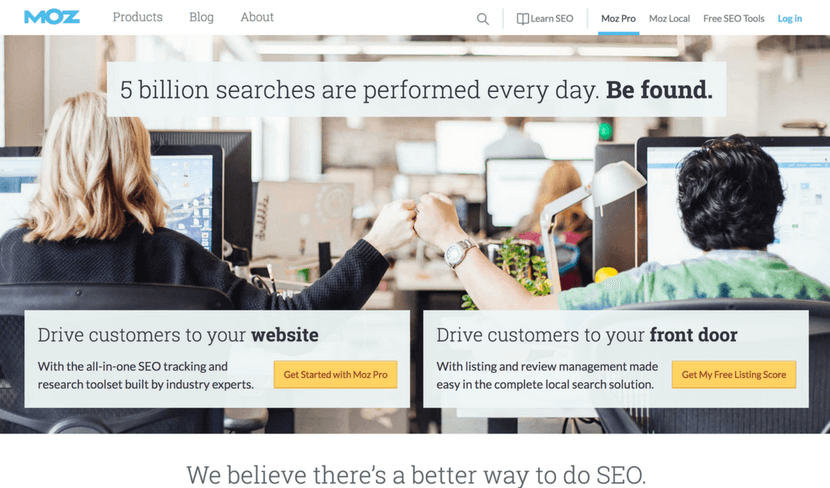 Inbound Marketing Tools Moz