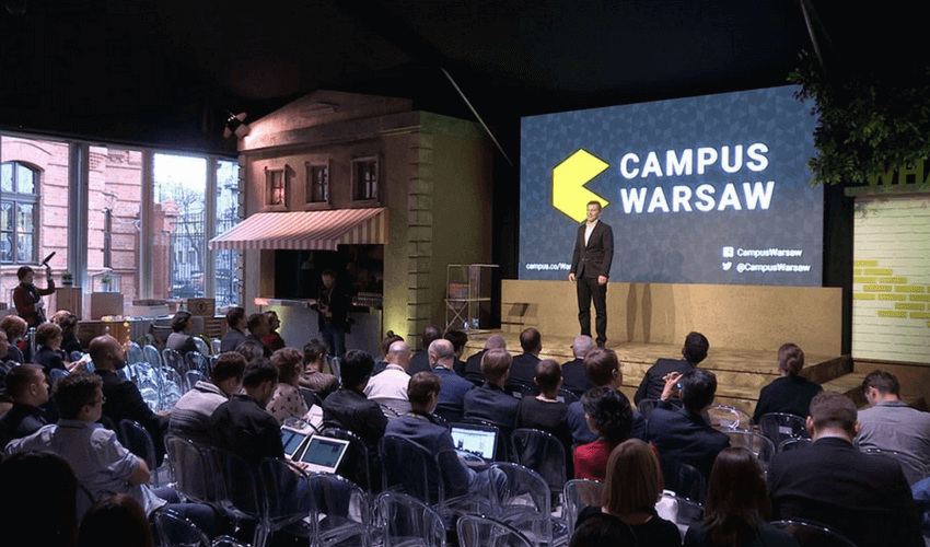 Startup Events Campus Warsaw Teamgate