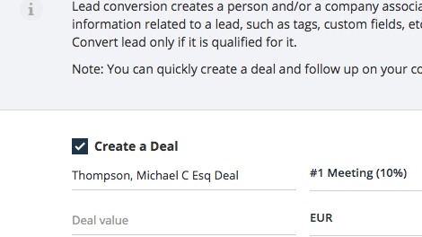 Teamgate Lead Conversion Advantage