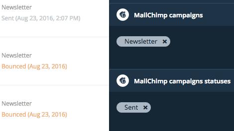 Mailchimp Campaign Filters