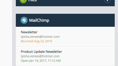 Mailchimp Campaigns History