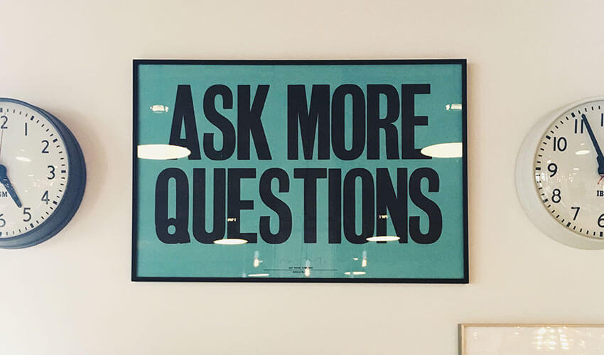 Ask smart questions