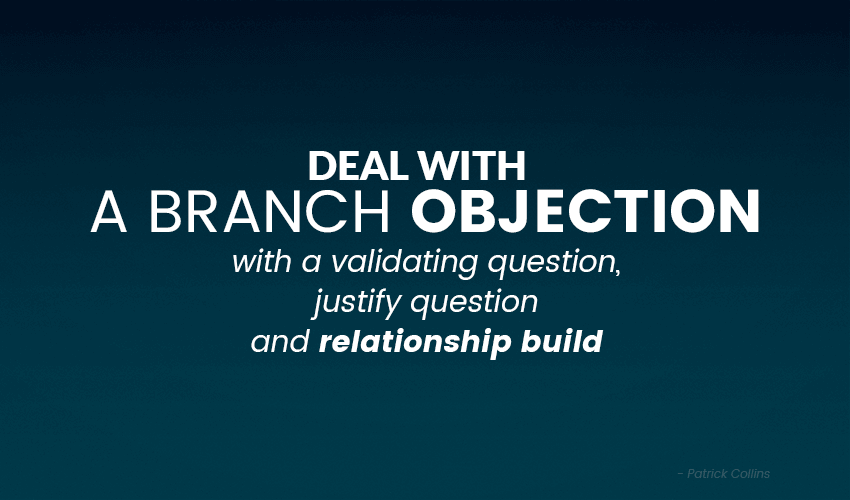How to deal with sales objections