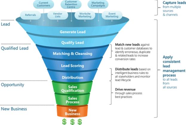 lead management sales process
