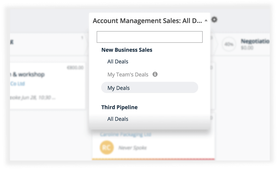 sales pipeline management solution teamgate sales crm