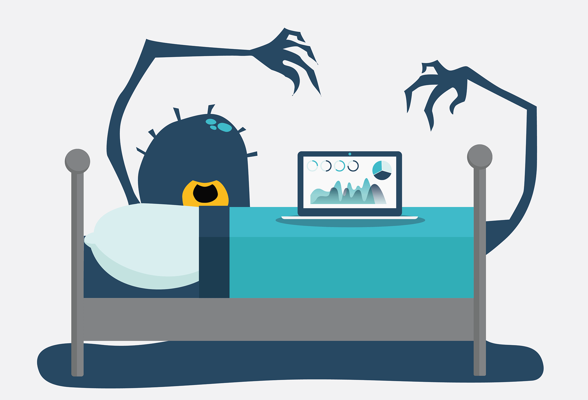 Sales Management CRM Monsters Under Bed