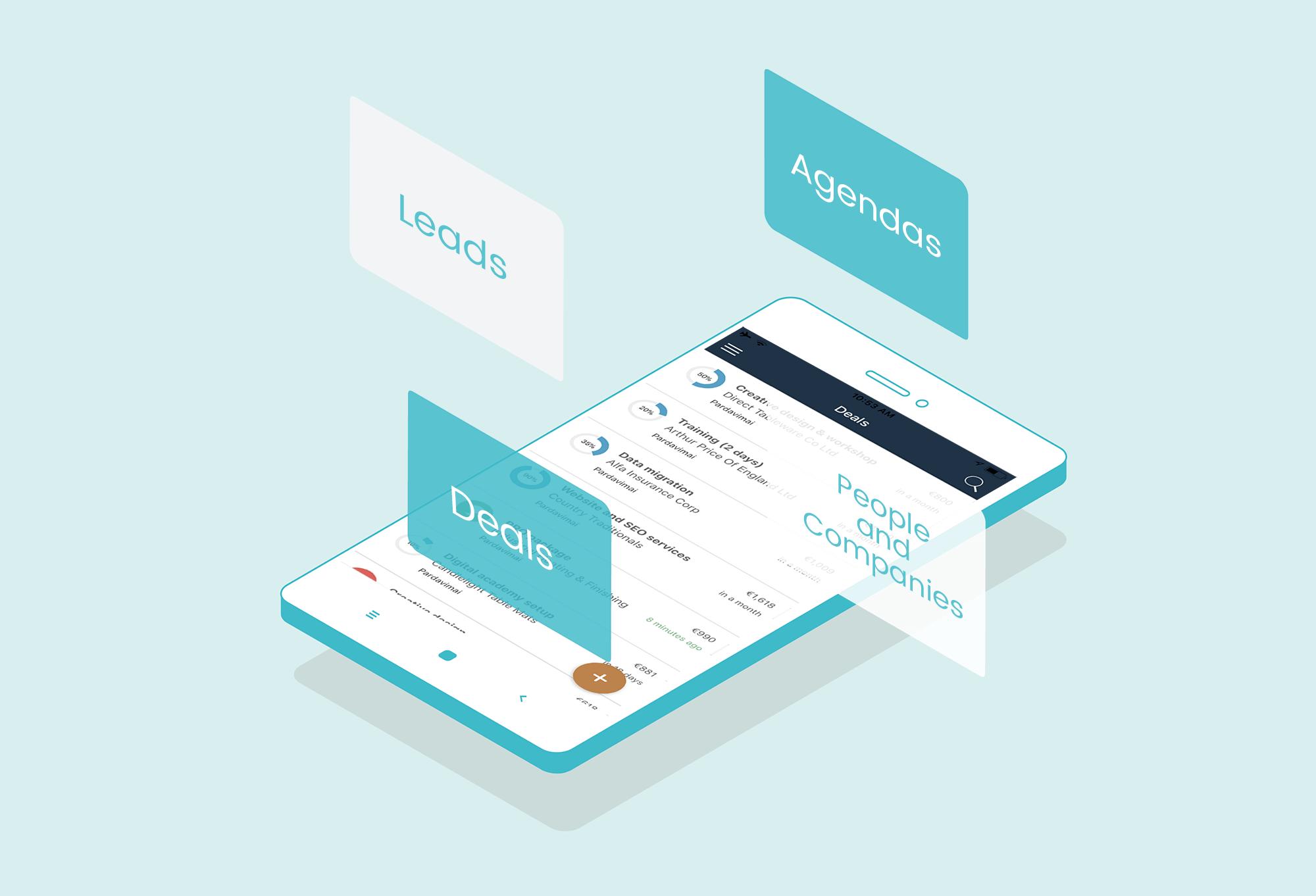 Mobile Sales App Teamgate